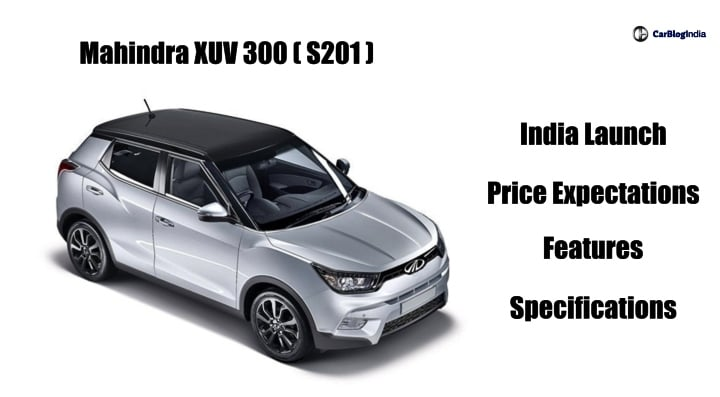 Mahindra Xuv 300 S 201 Price In India Launch Date