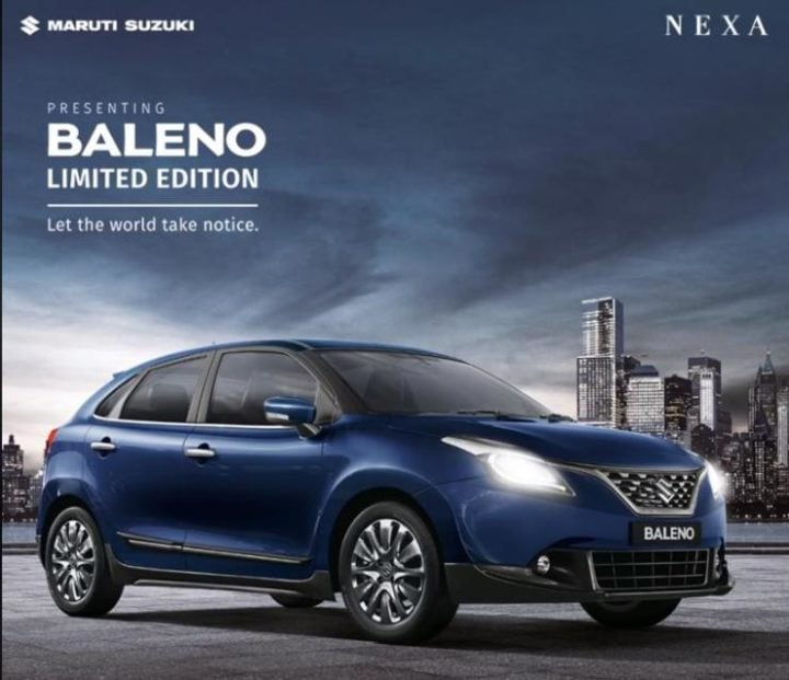 Maruti Baleno Limited Edition Launched In India Gets Some