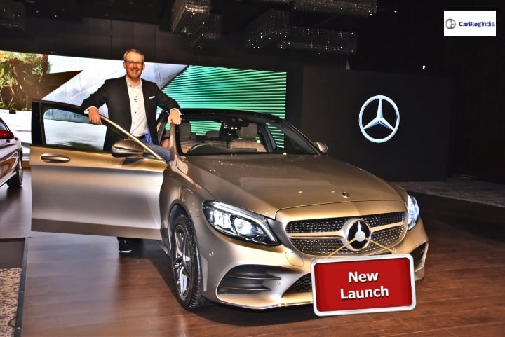 Mercedes Benz C-Class Facelift launched in India
