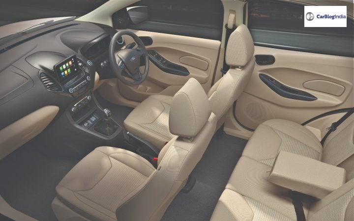New Ford Aspire Interiors image
