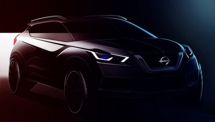 Nissan Kicks Sketches