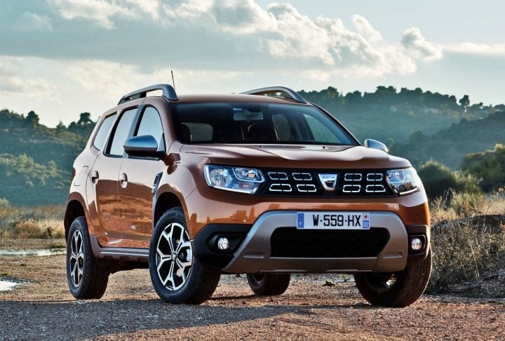 Renault Duster 2019 front image