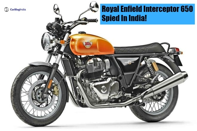Royal Enfield Interceptor 650 front image