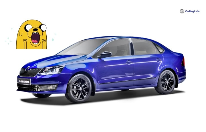 Skoda Rapid Onyx Edition launched; Looks Amazing in Blue!