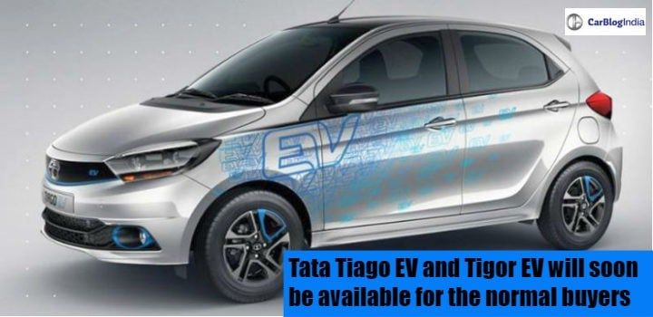 Tata Tiago EV and Tigor EV will soon be available for the normal buyers