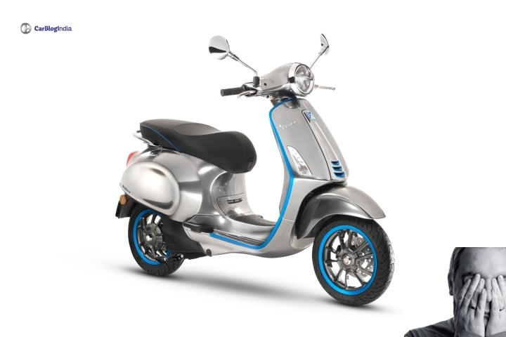 Bad News; Vespa Elettrica E-Scooter not coming to India anytime soon