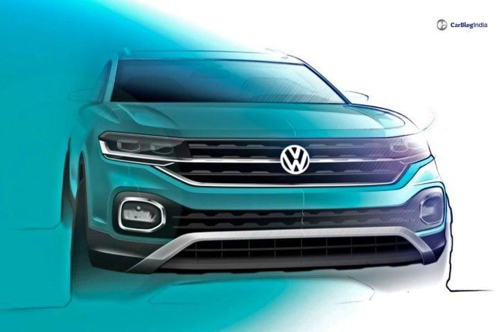 Volkswagen T-Cross Sketch image