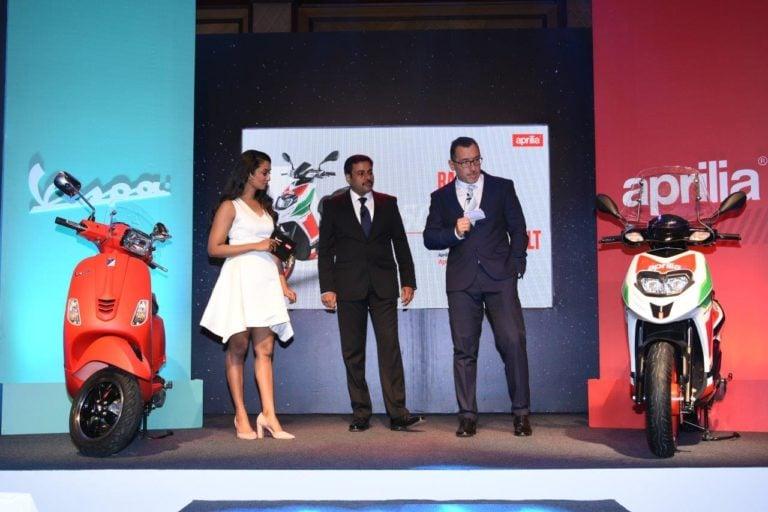 Vespa and Aprilia launches 4 new scooters in India!