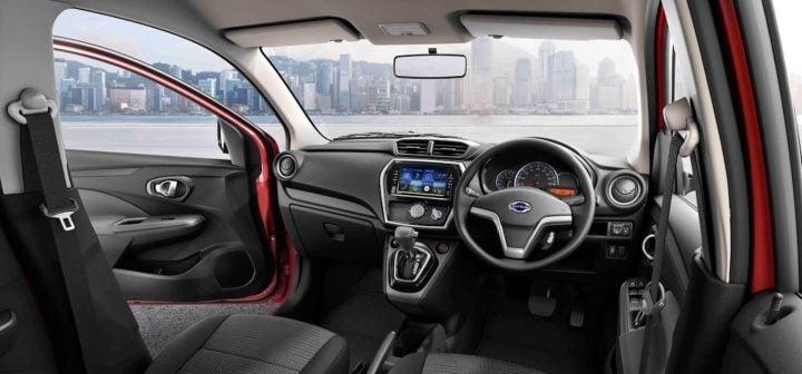 datsun go facelift interiors image