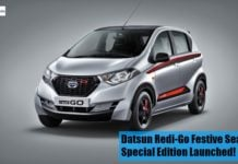 datsun red-go front image