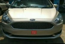 ford aspire facelift front image