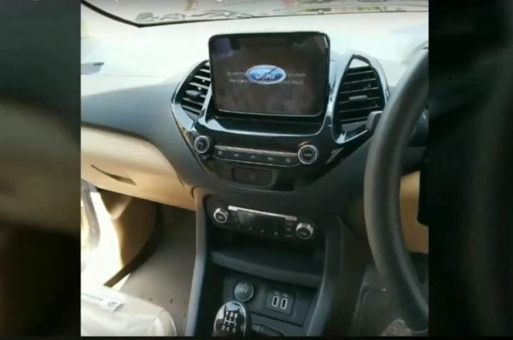 ford aspire facelift interiors image