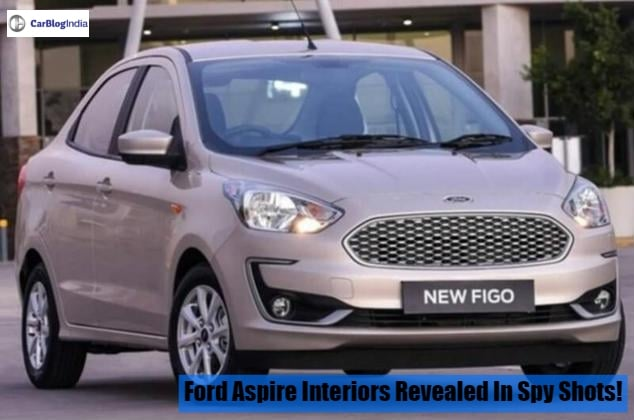 ford aspire facelift spy shots image
