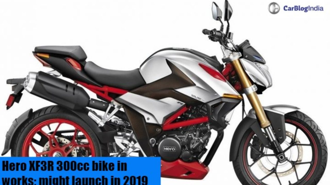 Hero Xf3r 300cc Naked Bike In Works Might Launch In 2019