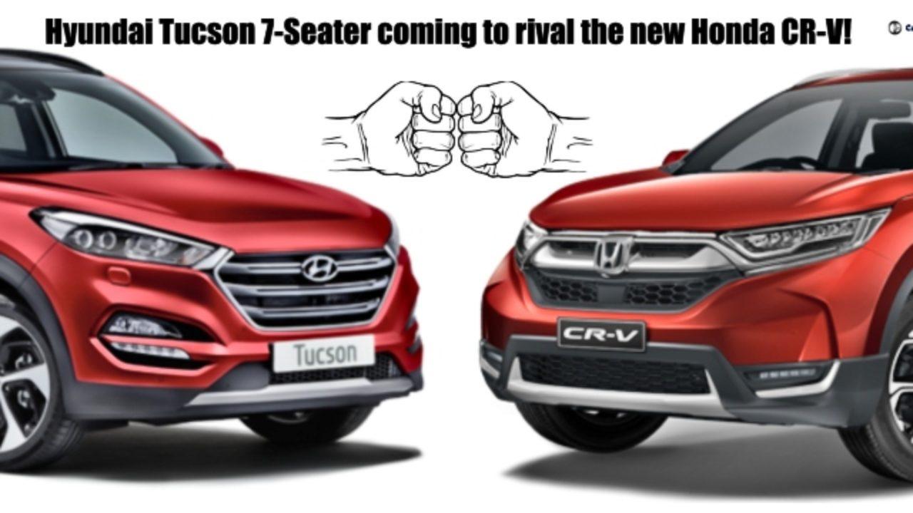 Hyundai Tucson 7 Seater Coming To Rival The New Honda Cr V