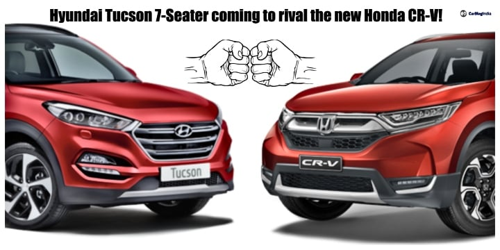 Hyundai Tucson 7-Seater coming to rival the new Honda CR-V