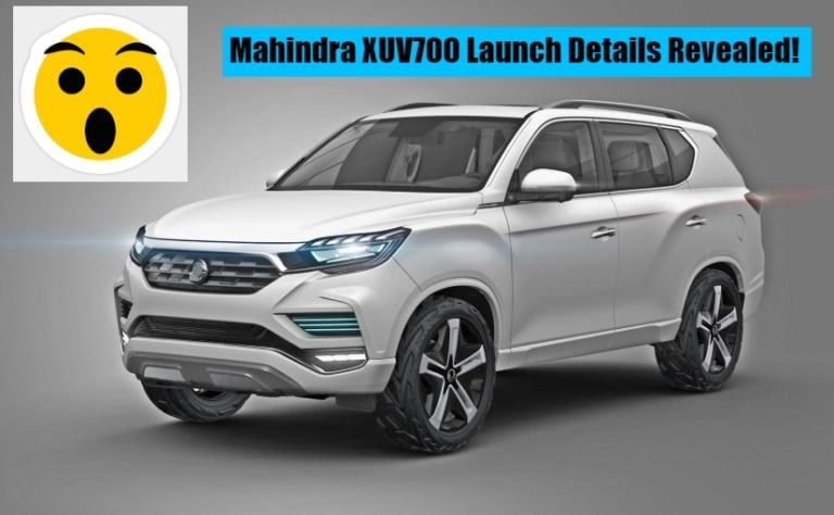 Mahindra XUV 700 launch likely in 2018 itself; S201 compact SUV coming next year