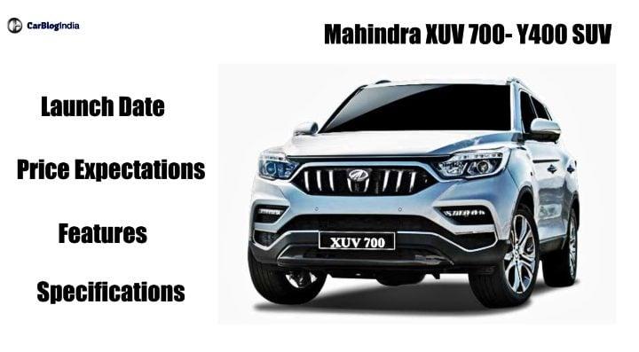 mahindra xuv 700 front image