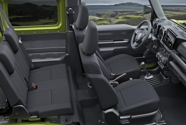 maruti gypsy seating image