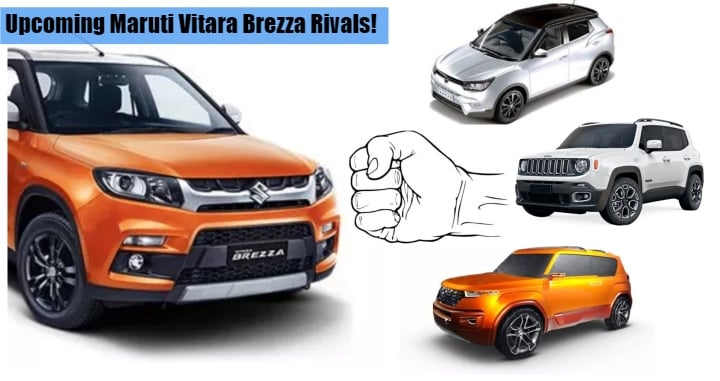 Upcoming Maruti Vitara Brezza Rivals- Hyundai Carlino, Mahindra S201 and Jeep Sub-Compact SUV