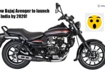 new bajaj avenger side social image