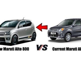 new maruti alto 800 vs old maruti alto 800 featured image