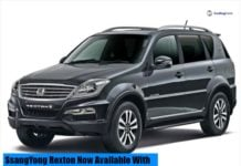 ssangyong rexton front image