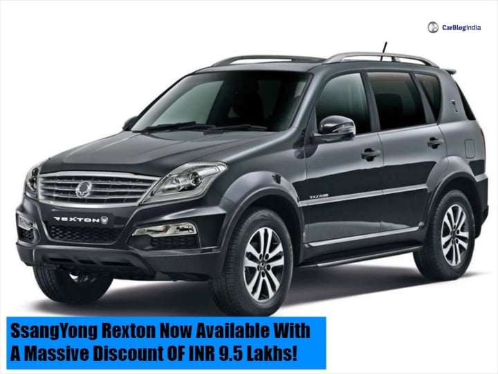 Mahindra XUV 700 imminent launch brings SsangYong Rexton price down to 16.5 lakhs