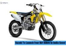 suzuki dirt bikes front image