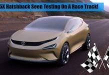tata 45x hatchback front image