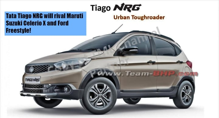 Tata Tiago NRG will rival Maruti Suzuki Celerio X and Ford Freestyle- Details Leaked