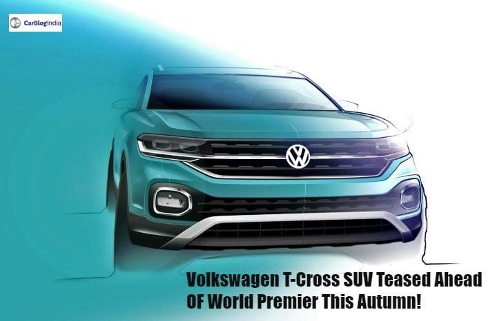 volkswagen t cross suv front image