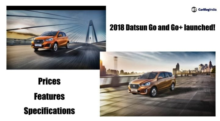 2018 datsun go and go plus launched image
