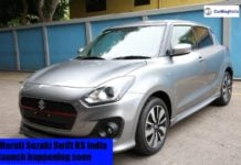 2018 Maruti Suzuki Swift RS