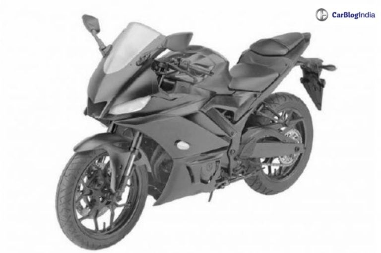 2019 Yamaha R3 design detailed leaked- Patent images