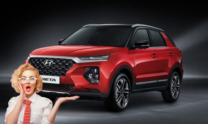 2020 Hyundai Creta SUV 7-Seater variant Rendered