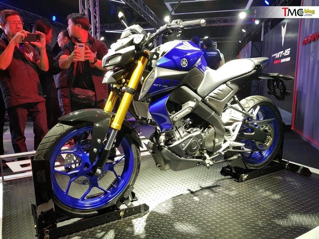 Yamaha MT-15 front image