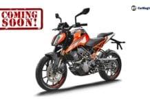KTM Duke 125 front image