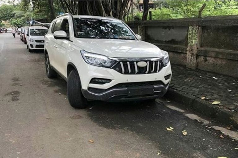 Mahindra XUV 700 clear exterior and interiors images – Spied
