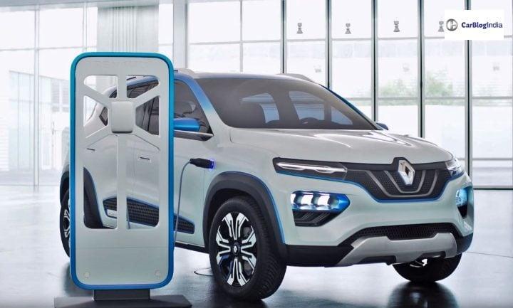 Renault Kwid Electric front image