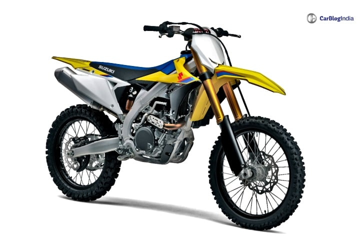 Suzuki RMZ Dirt Bike series launched in India- Prices and Specs