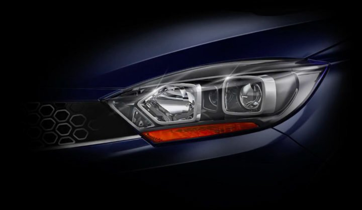 Tata Tigor Facelift headlamps