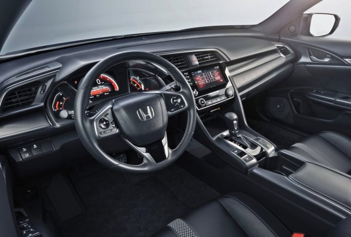 honda civic 2019 interiors image