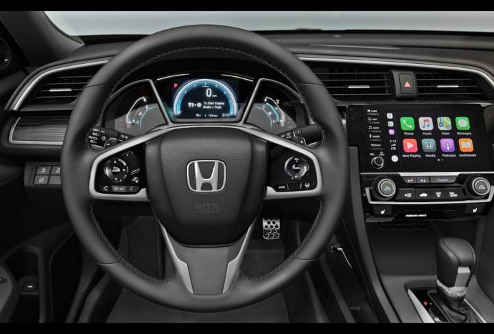 honda civic steering wheel image