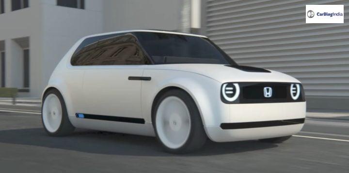 honda electric car india front image