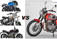 jawa 350 vs competition social image