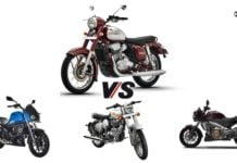 jawa 300 vs competition
