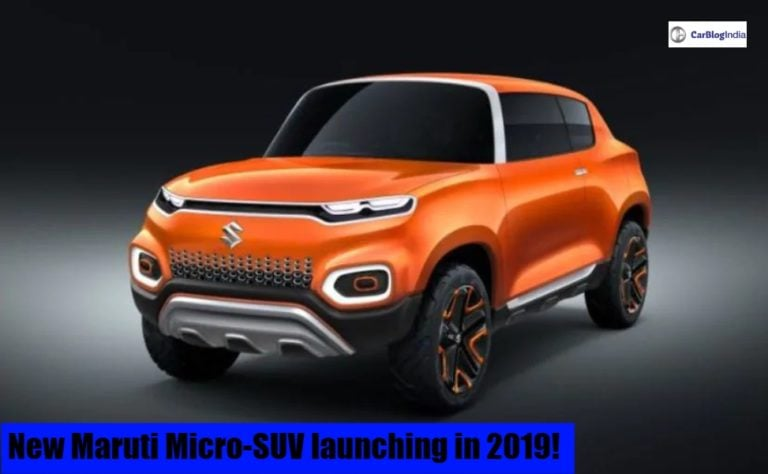 New Maruti Micro-SUV to launch in India next year