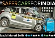 maruti swift ncap crash test image