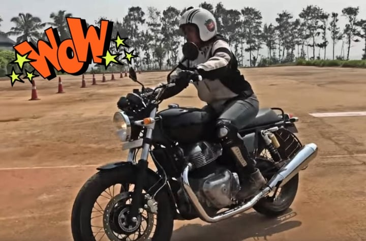 Here is the first customer experience video of the Royal Enfield 650 Twins!